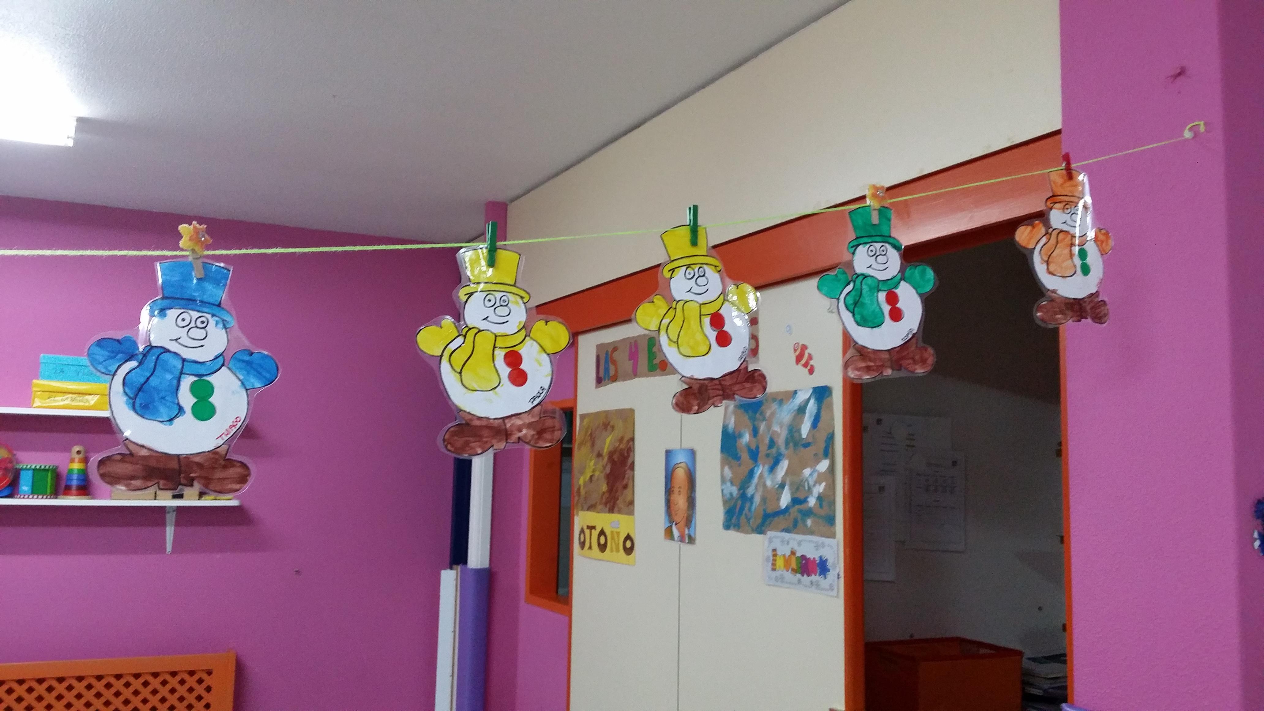 decoracion invierno para aula infantil