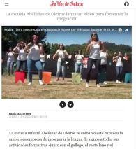 LA ESCUELA INFANTIL ABELLIÑAS LANZA UN VIDEO PARA FOMENTAR LA INTEGRACIÓN