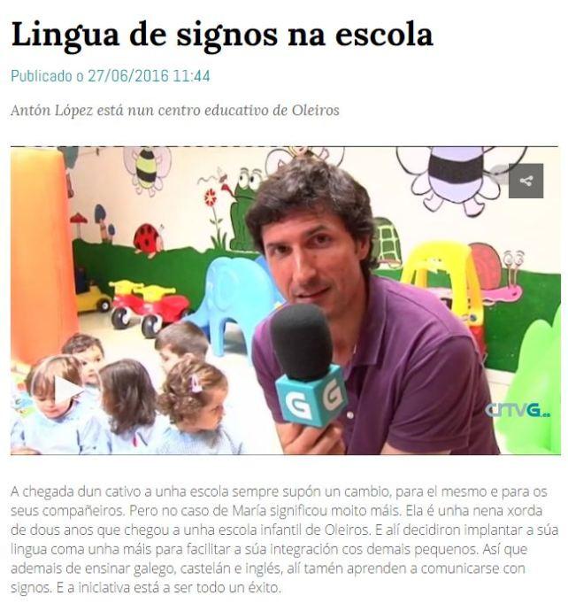LINGUA DE SIGNOS NA ESCOLA